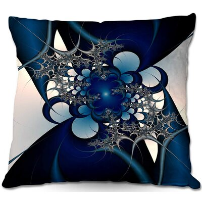 Sky and Moon Throw Pillow Size: 20 H x 20 W x 5 D