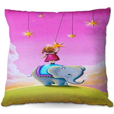 Celia Square Throw Pillow Size: 22 H x 22 W x 5 D