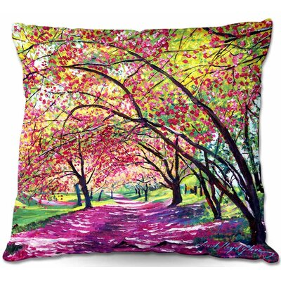 Lazy Afternoon Central Park Throw Pillow Size: 22 H x 22 W x 5 D