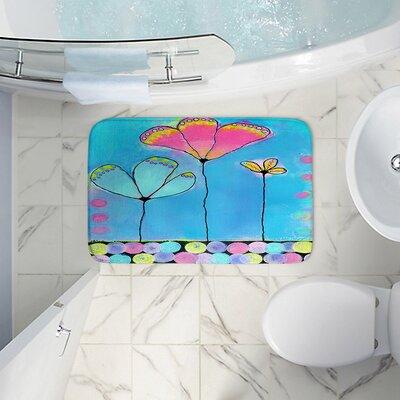 Croghan China Carnellas Memory Foam Bath Rug Size: 24 W x 36 L