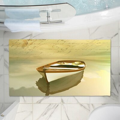 Carlos Casamayors Memory Foam Bath Rug Size: 17 W x 24 L