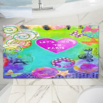China Carnellas Contemporary Memory Foam Bath Rug Size: 36 W x 24 L