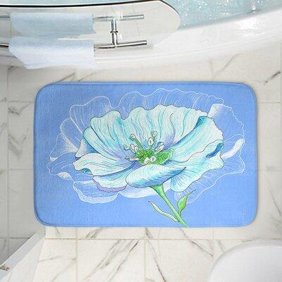 Catherine Holcombes Memory Foam Bath Rug Size: 24 W x 17 L