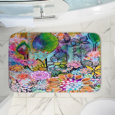 Rectangle Memory Foam Bath Rug Size: 36 W x 24 L
