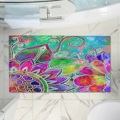 Contemporary Memory Foam Bath Rug Size: 24 W x 36 L
