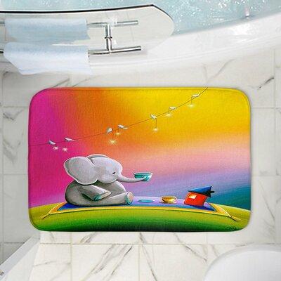Celia Cindy Thorntons Memory Foam Bath Rug Size: 24 W x 17 L