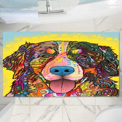 Dean Russos Dog Memory Foam Bath Rug Size: 17 W x 24 L