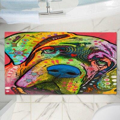 Dean Russos Memory Foam Bath Rug Size: 36 W x 24 L
