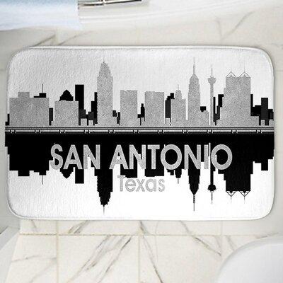 Angelina Vick's San Antonio Memory Foam Bath Rug Size: 17