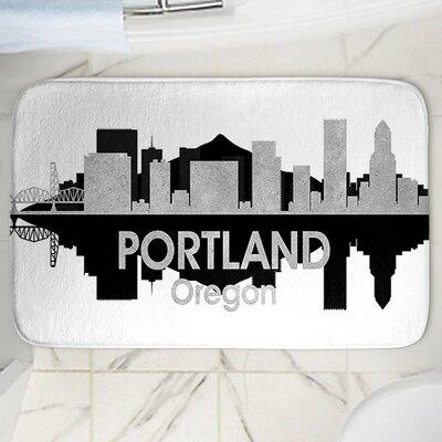 Angelina Vick's Portland Memory Foam Bath Rug Size: 17