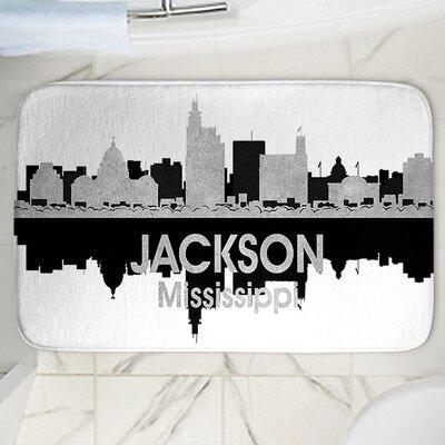 Angelina Vicks Jackson Memory Foam Bath Rug Size: 17 W x 24 L