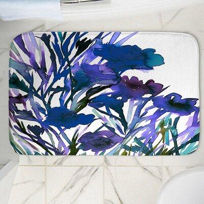 Petal Memory Foam Bath Rug Size: 36 W x 24 L