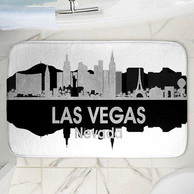 Angelina Vicks Las Vegas Memory Foam Bath Rug Size: 36 W x 24 L
