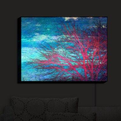'Abstract Tree II' Print on Wood