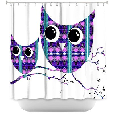 Holtman Ombre Pattern I Shower Curtain