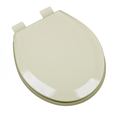Molded Wood Round Toilet Seat Finish: Bone