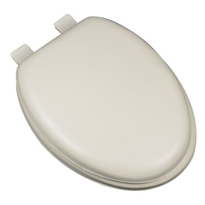 Premium Soft Elongated Toilet Seat Finish: Bone