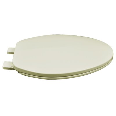 Builder Grade Plastic Elongated Toilet Seat Finish: Bone