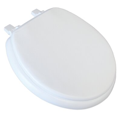 Deluxe Soft Round Toilet Seat Finish: White