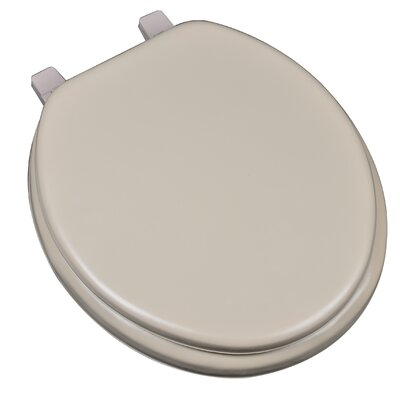 Deluxe Soft Round Toilet Seat Finish: Tan