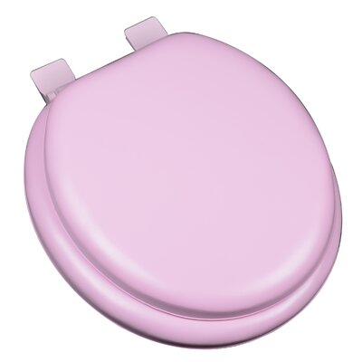 Premium Soft Round Toilet Seat Finish: Pink