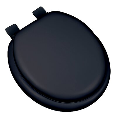 Premium Soft Round Toilet Seat Finish: Black