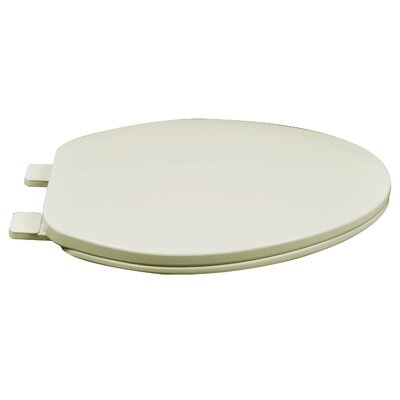 Builder Grade Plastic Elongated Toilet Seat Finish: Biscuit