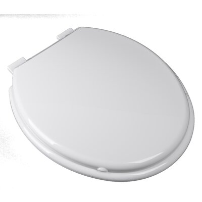 Premium Slow Close Combination-Family Plastic Round Toilet Seat