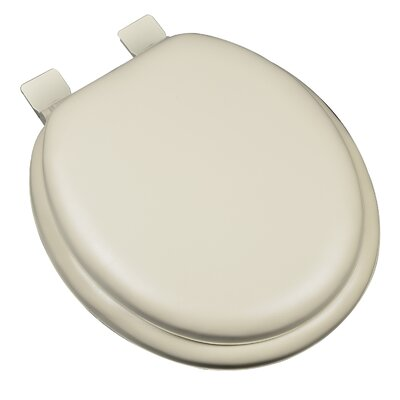 Premium Soft Round Toilet Seat Finish: Bone