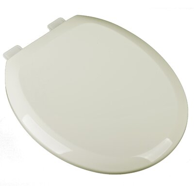 Slow Close Premium Plastic Round Toilet Seat Finish: Linen/Biscuit