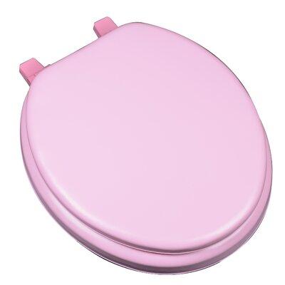 Deluxe Soft Round Toilet Seat Finish: Pink