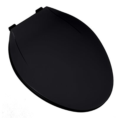 MRO Grade Plastic Elongated Toilet Seat Finish: Black
