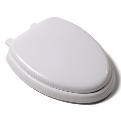 Premium Soft Elongated Toilet Seat Finish: White