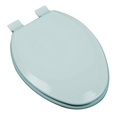 Premium Molded Wood Elongated Toilet Seat Finish: Dresden Blue