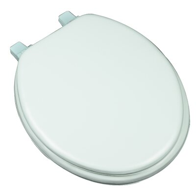 Deluxe Soft Round Toilet Seat Finish: Aqua