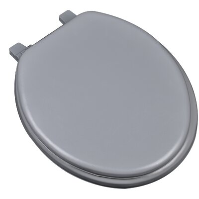 Deluxe Soft Round Toilet Seat Finish: Gray
