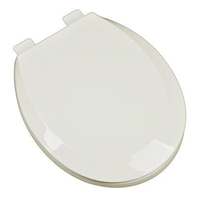 Premium Plastic Contemporary Round Toilet Seat Finish: Biscuit/Linen