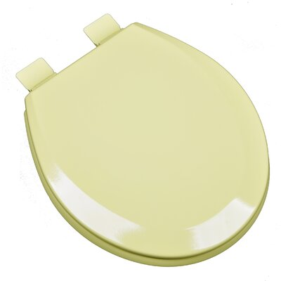 Molded Wood Round Toilet Seat Finish: Citron Yellow