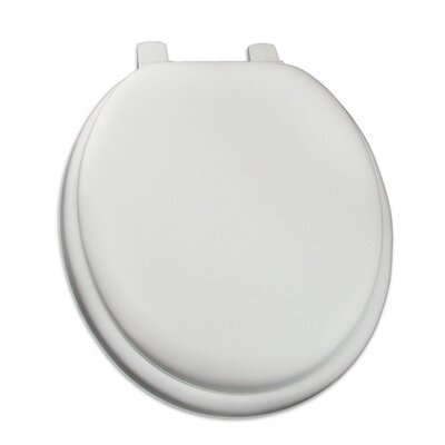 Premium Soft Round Toilet Seat Finish: White