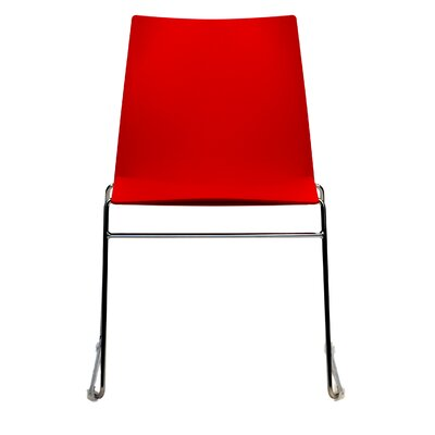 Dextra Vibe Guest Chair (Set of 9) Seat Color: Red