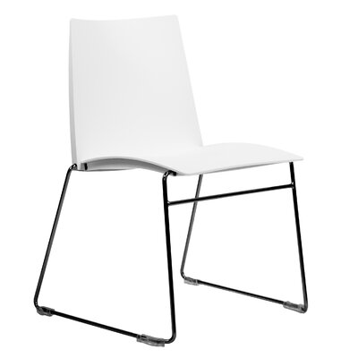 Dextra Vibe Guest Chair (Set of 9) Seat Color: White