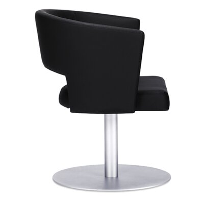Hug T Lounge Chair (Set of 2) Color: Onyx