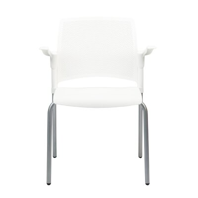 Dextra Mia Guest Chair (Set of 8) Seat Color: White
