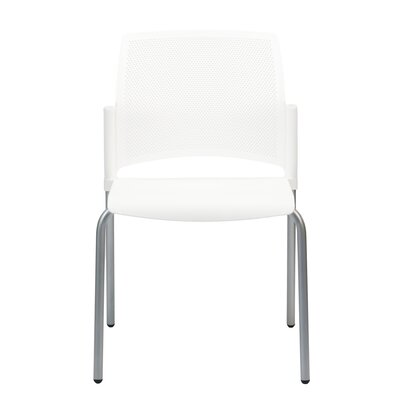 Dextra Mia Guest Chair (Set of 9) Seat Color: White