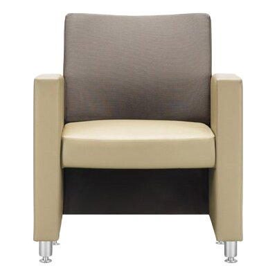 Campus Lounge Chairs (Set of 3) Upholstery Color: Garnet