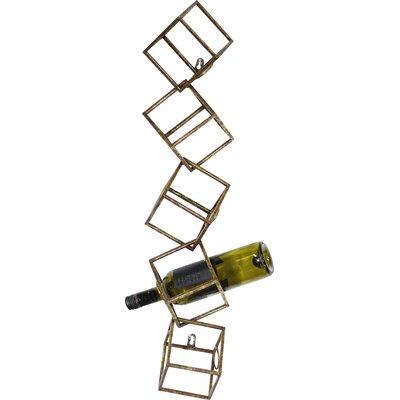 Lucilo 5 Bottle Wall Mounted Wine Rack
