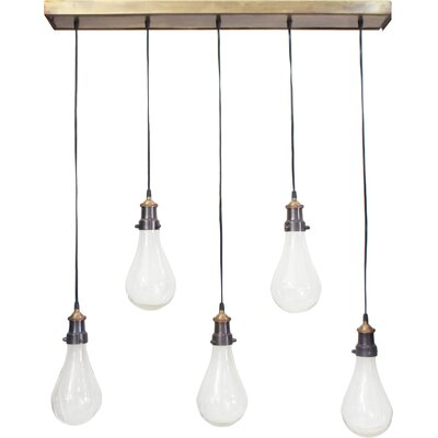 Remi IV 5-Light Kitchen Island Pendant
