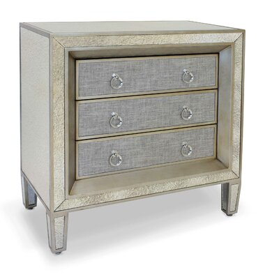 Osias 3 Drawers Dresser