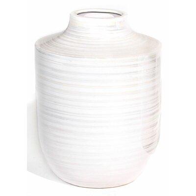 "Turia Table Vase Size: 12"" H x 8.5"" W x 8.5"" D 04-00893"