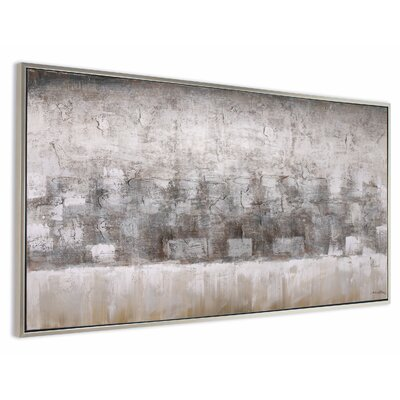 'Desert Horizon' Framed Painting on Canvas